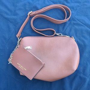 Marc New York brown shoulder bag with wallet